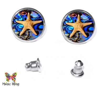 Starfish Stud Earrings Earrings