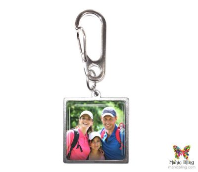 Family Photo Purse Charm Custom Photo Jewelry