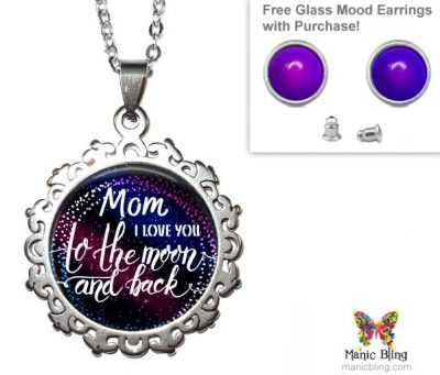 To The Moon Pendant Mother's Day