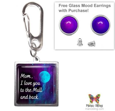 To The Mall Purse Charm Mother's Day