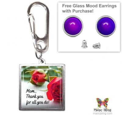 Thank You Purse Charm Mother's Day