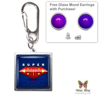 Super Mom Purse Charm Mother's Day