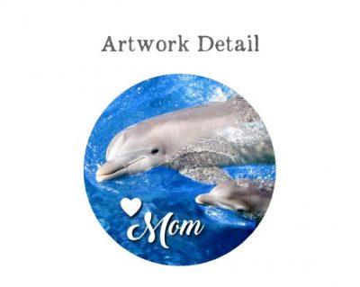 Dolphin Mom Pendant