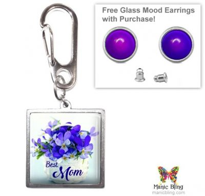 Best Mom Purse Charm Mother's Day