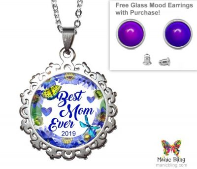 Best Mom Ever Pendant Mother's Day