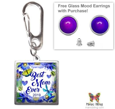 Best Mom Ever Purse Charm Mother's Day