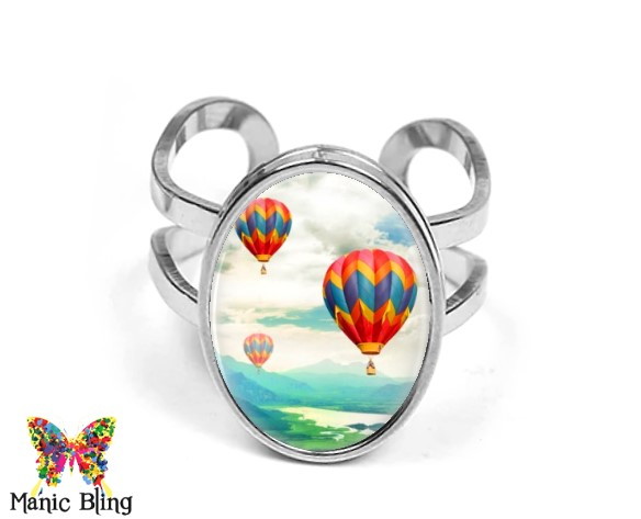 Balloon Oval Ring Rings