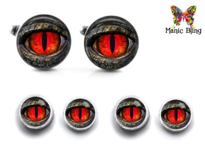 Dragon Eye Cufflink Set Cufflinks & Tie Tacks