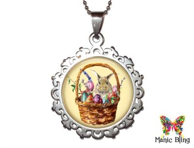 Easter Basket Pendant Easter