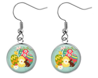 Retro Easter Earrings