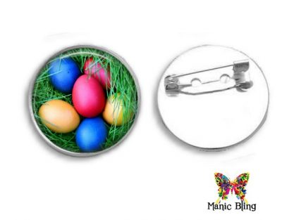 Easter Egg Brooch