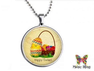 Easter Chick Pendant
