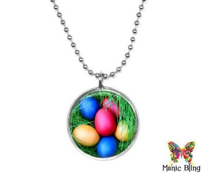 Easter Egg Pendant