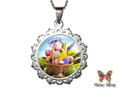 Easter Basket Pendant