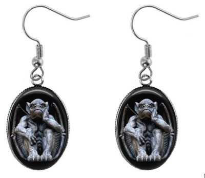Gothic Gargoyle Earrings Dangle Earrings