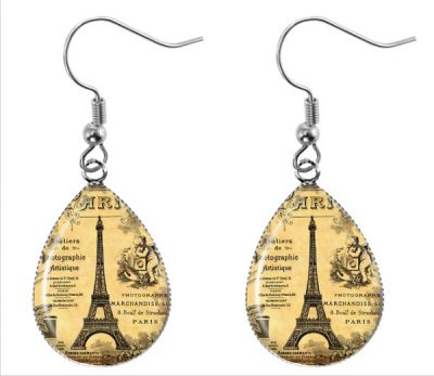 Paris Teardrop Earrings