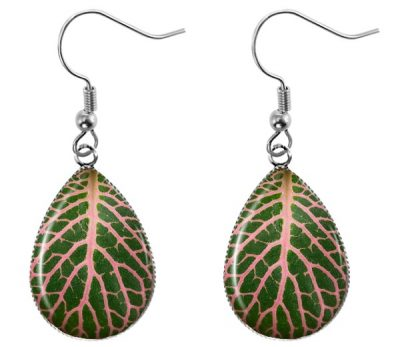 Leaf Teardrop Earrings Dangle Earrings