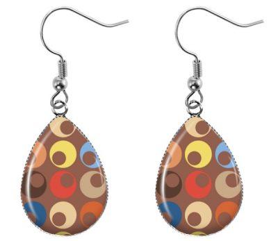Retro Pattern Earrings Dangle Earrings