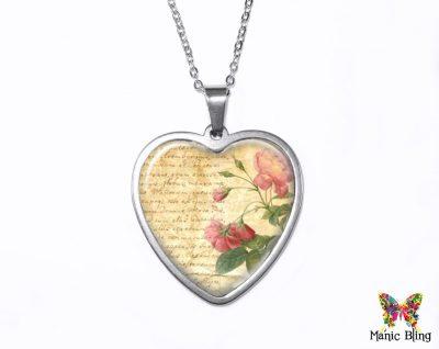 Love Letter Heart Pendant