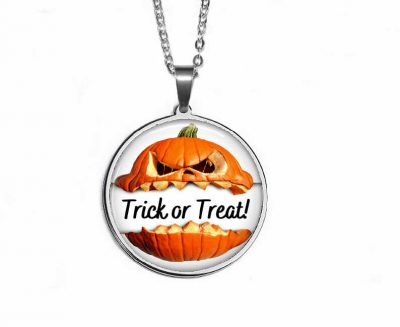 Trick or Treat Pendant Halloween