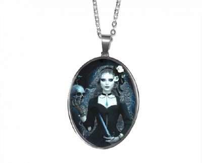 Gothic Girl Pendant