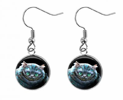 Cheshire Cat Earrings Halloween