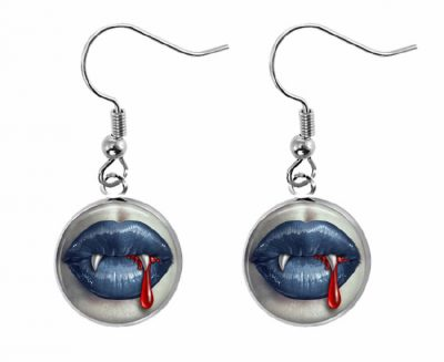 Vampire Earrings Halloween