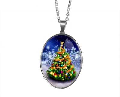 Large Christmas Tree Pendant
