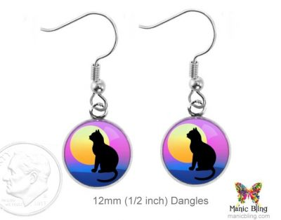 Cat Dangle Earrings Dangle Earrings