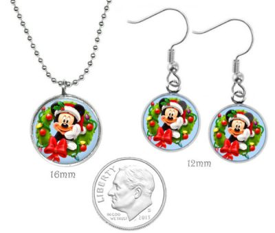 Mickey Mouse Jewelry Set