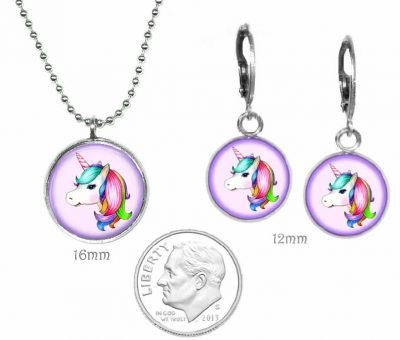 Girls Unicorn Jewelry Set Just for Kids