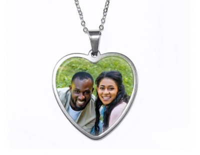 Custom Heart Pendant Custom Photo Products