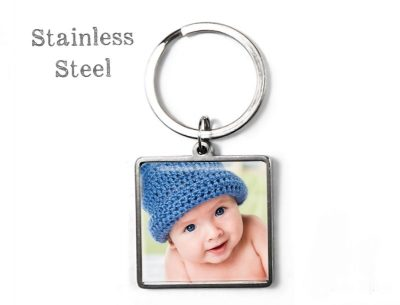 Square Photo Keyring Custom Photo Products