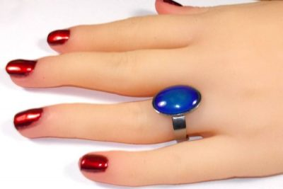 Glass Mood Ring