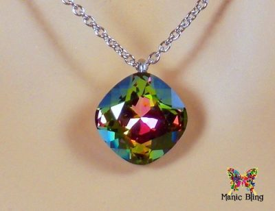 Swarovski Crystal Vitrail Medium Pendant Necklaces & Pendants