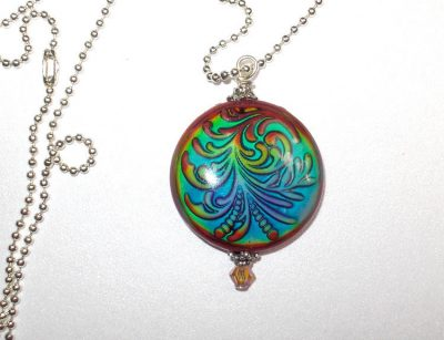 Mirage Mood Bead Pendant Necklaces & Pendants