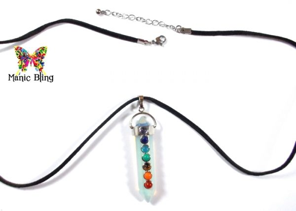 Genuine Gemstone Chakra Pendant Necklaces & Pendants