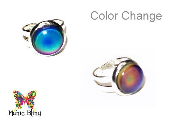 Little Girl's Mood Ring Fashion Rings
