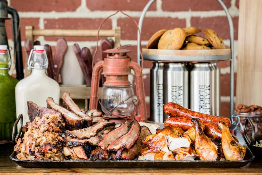 Maple Block-Catering_meat platter