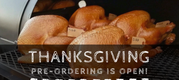 Thanksgiving 2019 by Maple Block - Order by Friday, November 22 - Peach Wood Smoked Turkey and All the Fixings