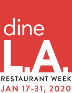 dineLA Restaurant Week at Maple Block - January 2020