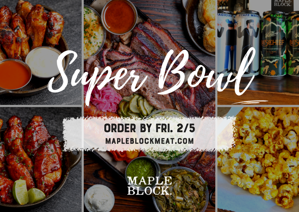 Super Bowl 2021: order by February 5th