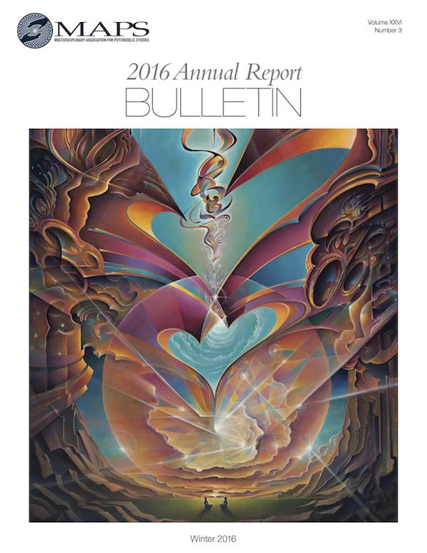 MAPS Bulletin Winter 2016: Vol. 26 No. 3 Annual Report