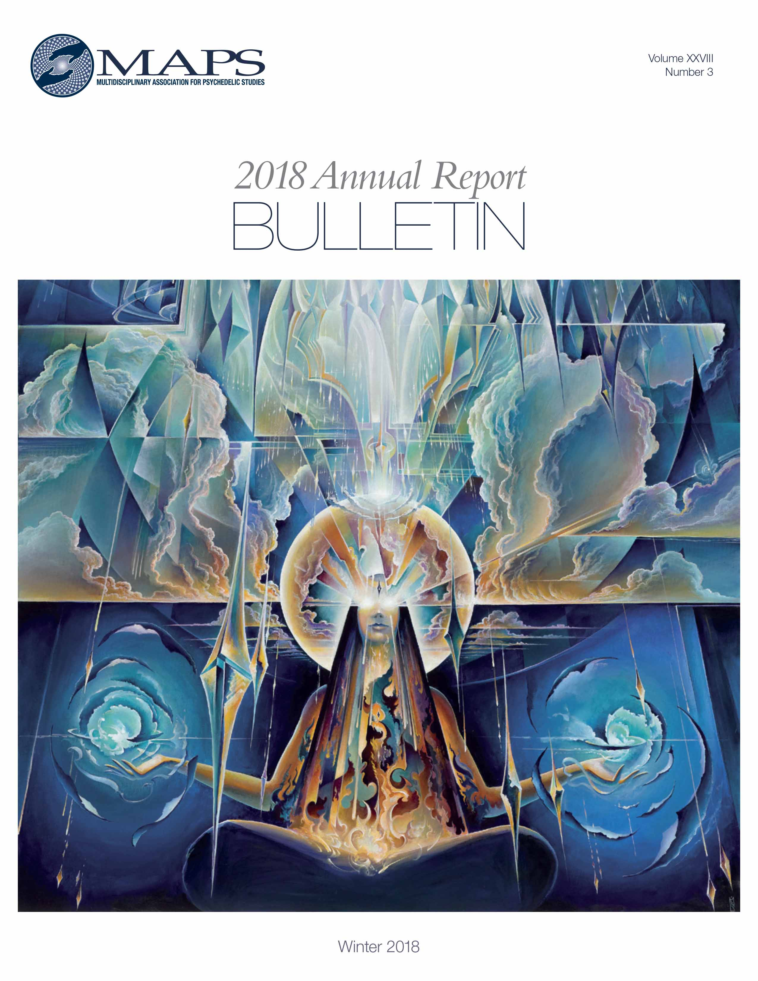 MAPS Bulletin Winter 2018: Vol 28, No. 3