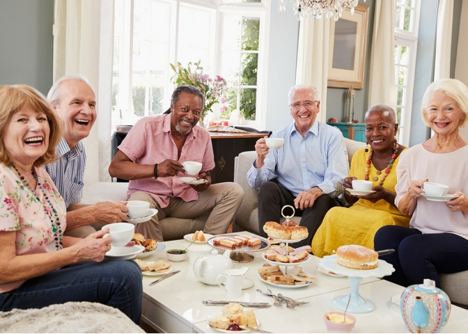 Staying social in retirement