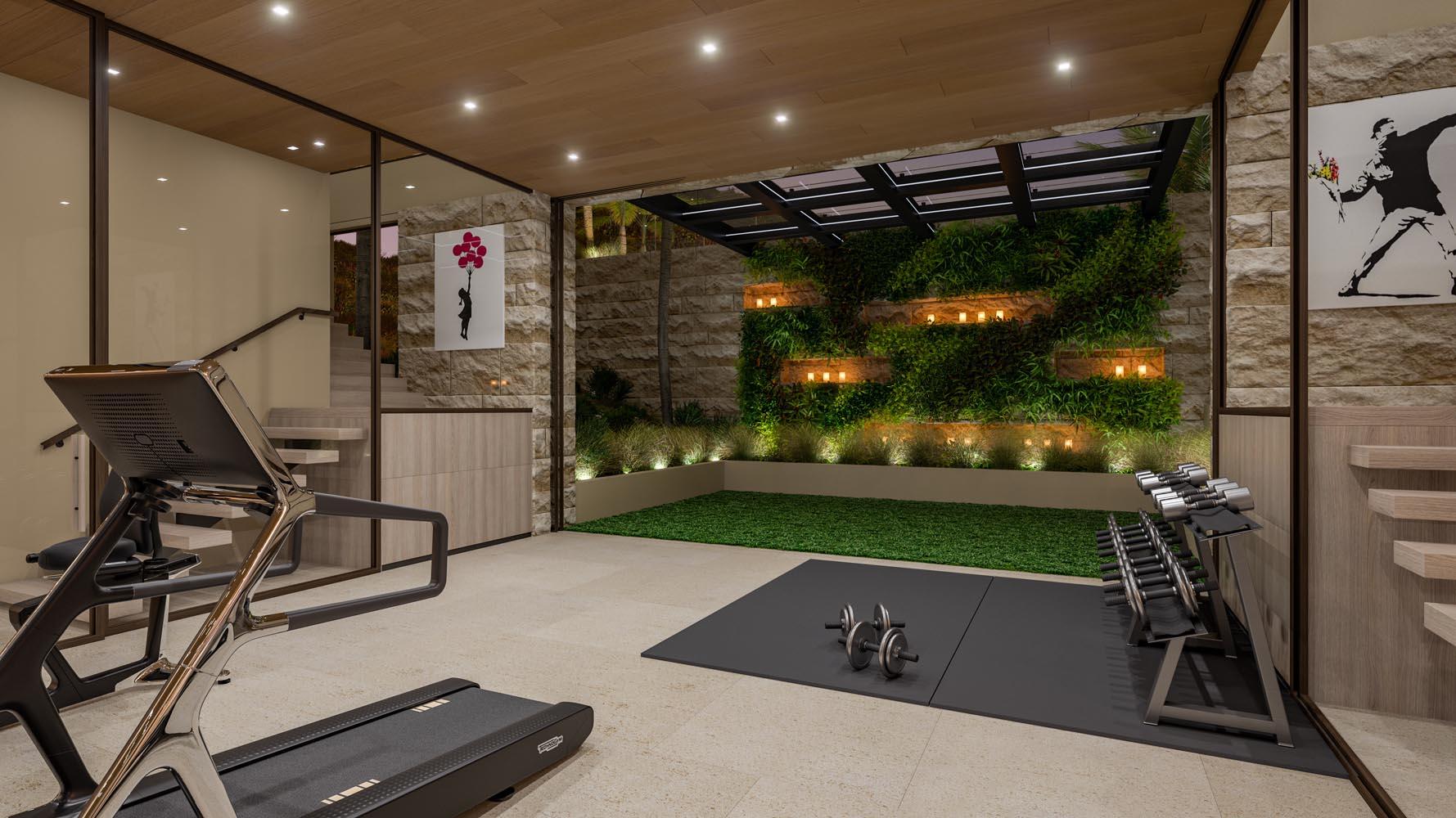 Lot 14 Marisol Malibu Gym