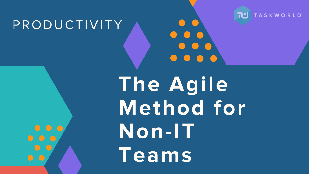 Introduction to the Agile Methodology for Non-IT Teams