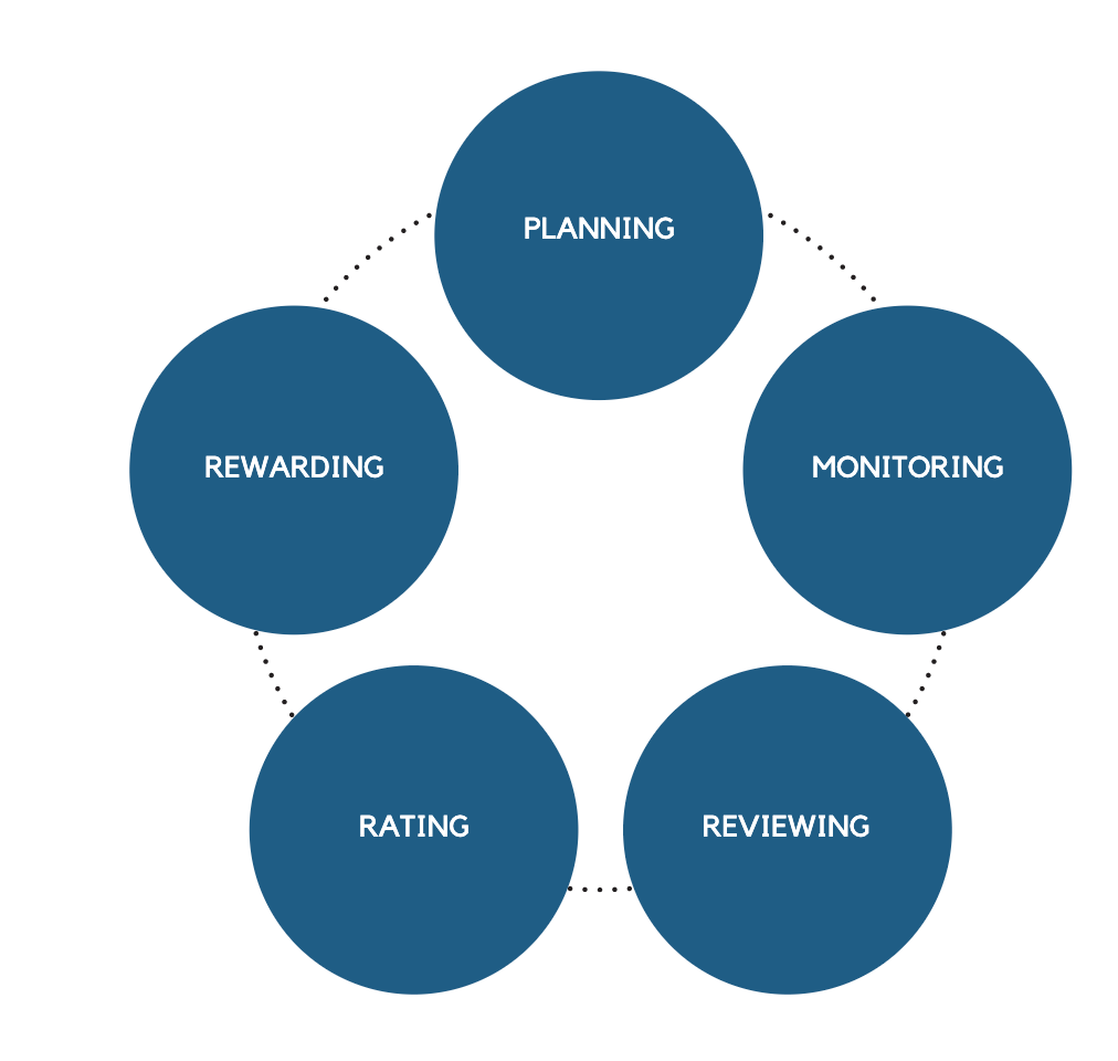 traditional performance management process
