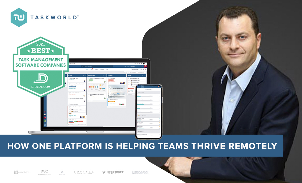 How One Platform Is Helping Teams Thrive Remotely