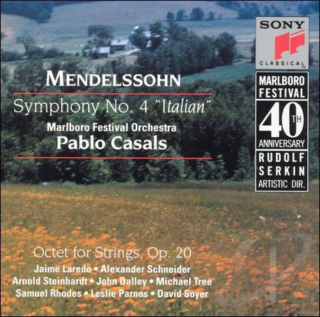 Marlboro Fest 40th Anniversary – Mendelssohn: Symphony No. 4
